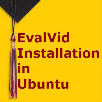 Install EvalVid in Ubuntu System